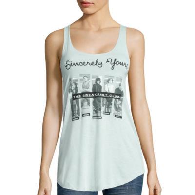 Graphic Racerback Tank Top