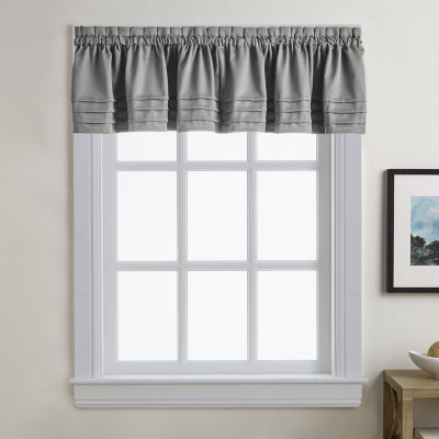 Addison Solid Twill Rod-Pocket Valance