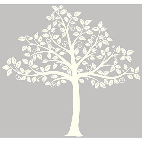 WallPops Silhouette Tree Large Wall Art Kit