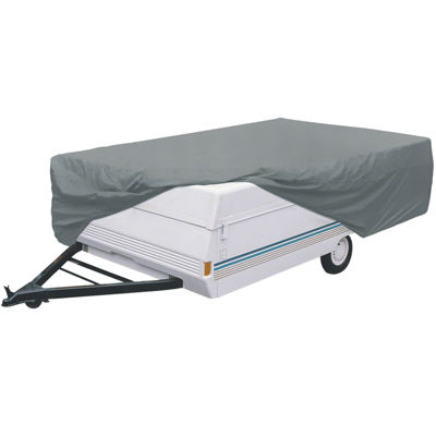 Classic Accessories 80-212-301001-00 PolyPro I Folding Camping Trailer Cover, Model 0