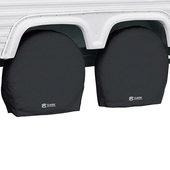 Classic Accessories 80-237-150401-00 RV Wheel Covers, Model 2