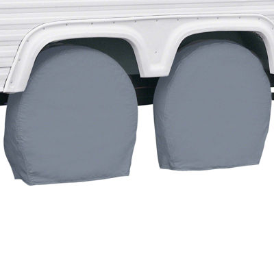 Classic Accessories 80-082-141001-00 RV Wheel Covers, Model 1