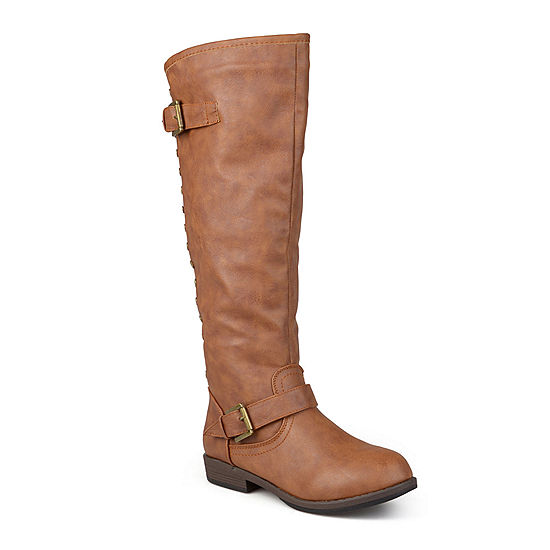 a590d67847a Journee Collection Spokane Wide Calf Riding Boots - JCPenney