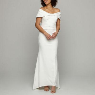Blu Sage Off The Shoulder Wedding Gown