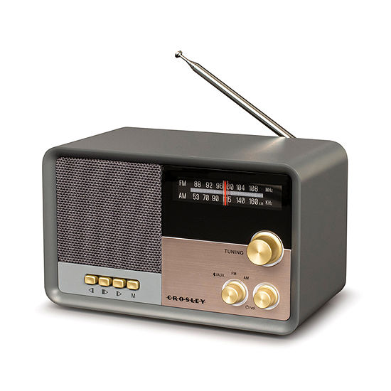 Crosley Tribute AM/FM Radio with Built-in Bluetooth
