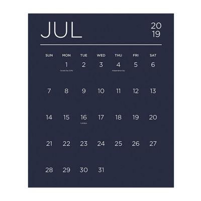 Tf Publishing Color Collection Mini Art Wall Calendar