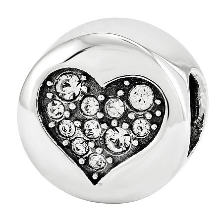 PS Personal Style Crystal Sterling Silver Bead, One Size