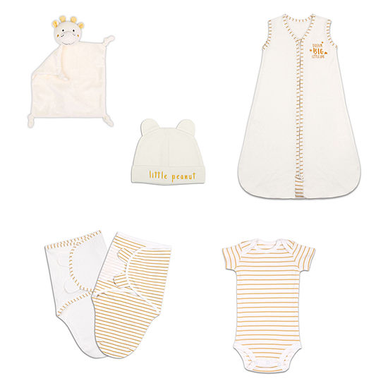 The Peanut Shell 6 Pc. Baby Unisex Baby Clothing Set