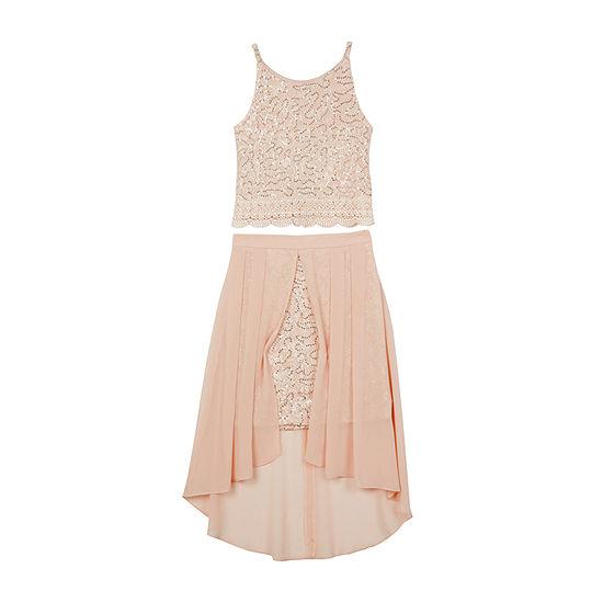 by&by girl Girls Sleeveless A-Line Dress - Big Kid