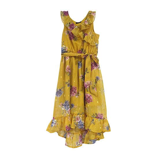 Lilt Sleeveless Floral Maxi Dress - Preschool / Big Kid Girls
