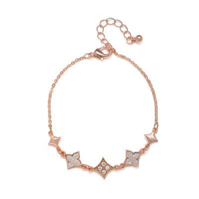Mixit Rose Tone Charm Bracelet