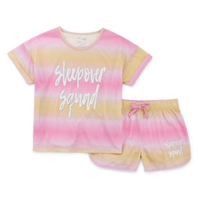 Cloud 9 2-pc. Shorts Pajama Set Girls