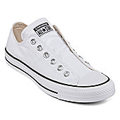 bbbe7e39e21a Converse Ox Frayed Lines Womens Lace-up Sneakers. White Black. View Price  in Cart