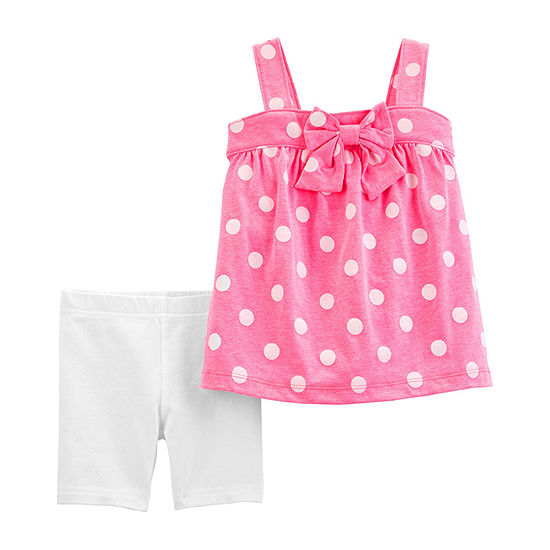 Carter's Girls 2-pc. Short Set Baby