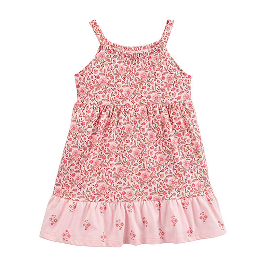 Carter's Girls Sleeveless Floral A-Line Dress - Baby