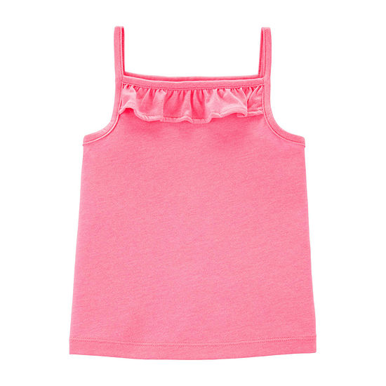 Carter's Girls Square Neck Tank Top - Baby