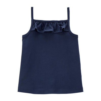 Carter's Girls Square Neck Tank Top