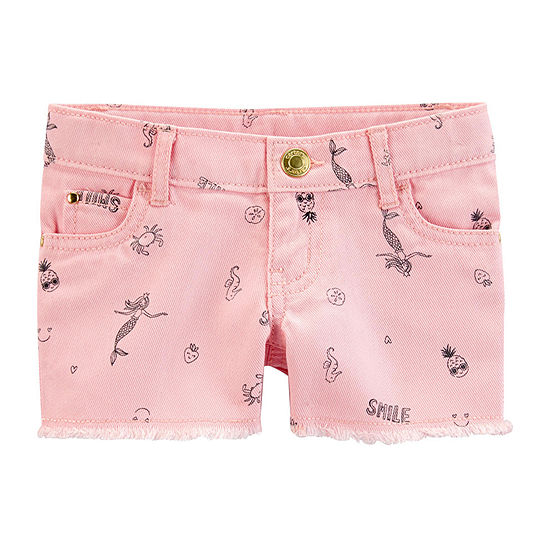 Carter's Baby Girls Denim Short