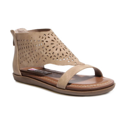 2 Lips Too Womens Cara Flat Sandals