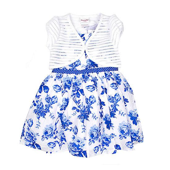 Nanette Baby 2-pc. Jacket Dress Girls - Toddler