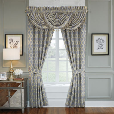 Croscill Classics Nadia Rod-Pocket Curtain Pair Panels