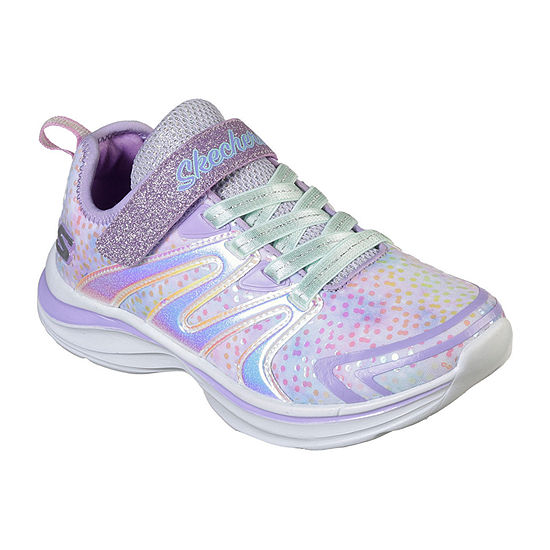 Skechers Double Dreams Unicorn Wishes Sneakers Elastic - Little Kids Girls