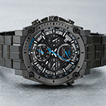 Bulova Precisionist Mens Chronograph Gray Stainless Steel Bracelet Watch-98b229