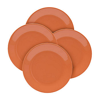 4-Pack Outdoor Summer Melamine Dinner Plates
