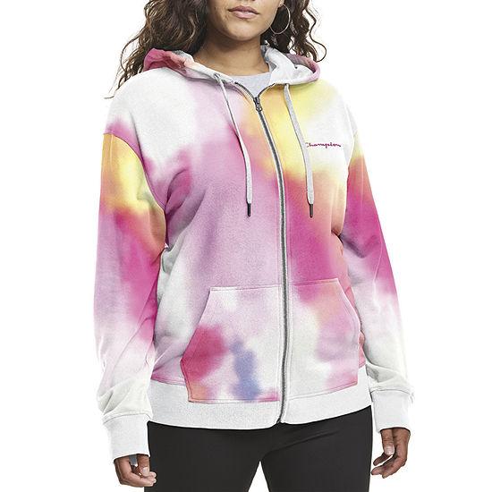 Champion Womens Hooded Neck Long Sleeve Sweatshirt Plus