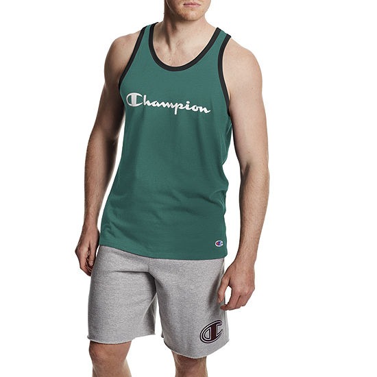 Champion Mens Round Neck Sleeveless Tank Top