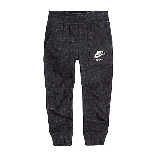 Nike Little Girls Cuffed Jogger Pant