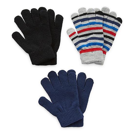 Arizona Little & Big Boys Cold Weather Gloves