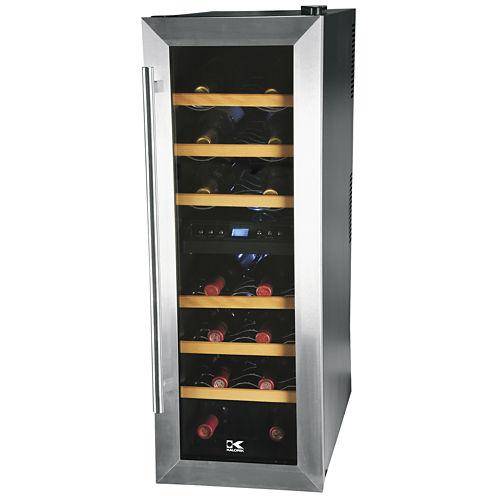 Kalorik 21-Bottle Dual-Temp Wine Cooler
