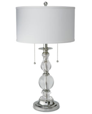Royal Velvet® Optic Crystal Table Lamp