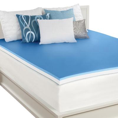 """Sealy® 3"""" Memory Foam Mattress Topper"""