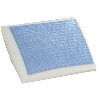 Comfort Revolution Square Gel Memory Foam Pillow