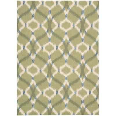 Waverly® Izmir Indoor/Outdoor Ikat Rectangular Rug