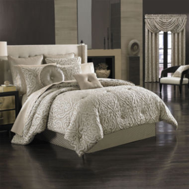 jcpenney.com | Queen Street® Antonia 4-pc. Jacquard Comforter Set and Accessories