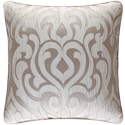 "Queen Street® Antonia 18"" Square Jacquard Decorative Pillow"