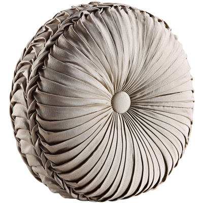 "Queen Street® Antonia Tufted 15"" Round Decorative Pillow"