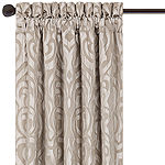 Queen Street Rod-Pocket Single Curtain Panel