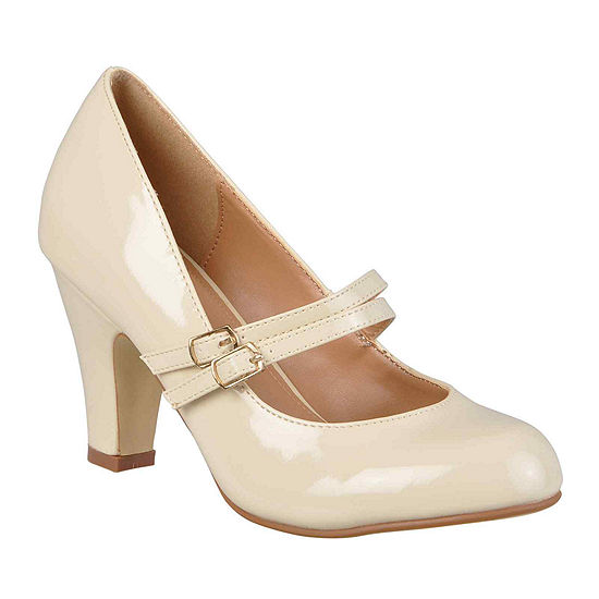 Journee Collection Womens Wendy Pumps Wide Width