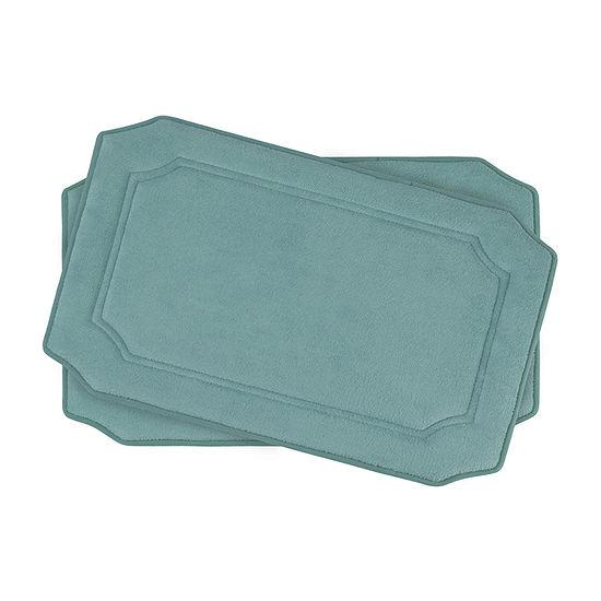 """Bounce Comfort Walden Memory Foam 17x24"""" 2-pc. Bath Mat Set"""