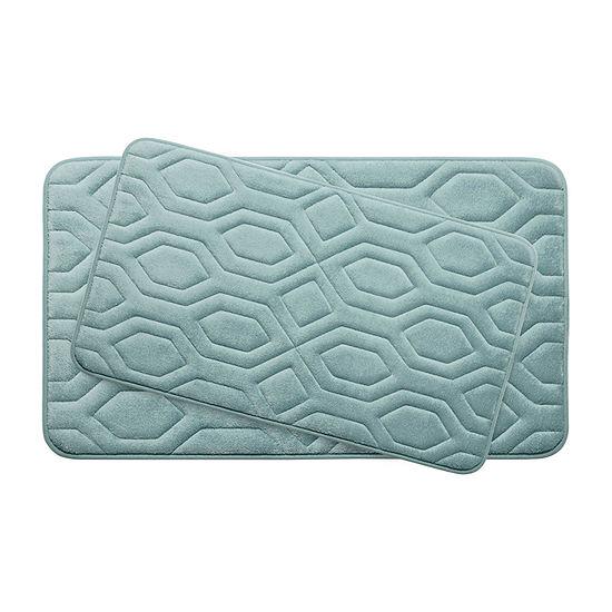 Bounce Comfort Turtle Memory Foam 2-pc. Bath Mat Set