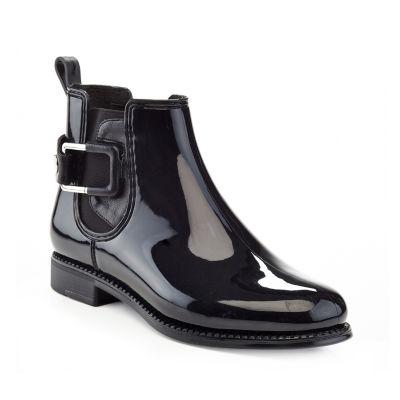 Henry Ferrera Womens Marsala 72 Rain Boots Water Resistant Flat Heel Pull-on