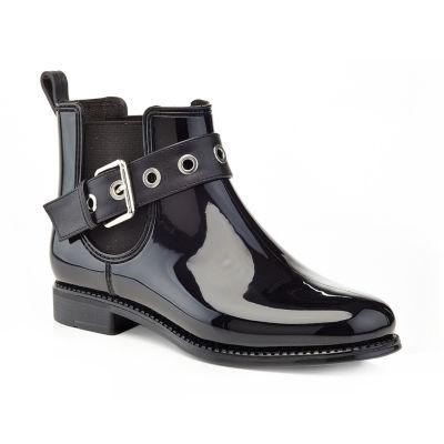 Henry Ferrera Womens Marsala 26 Rain Boots Water Resistant Flat Heel Pull-on