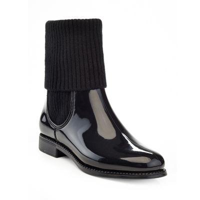 Henry Ferrera Womens Marsala 70 Rain Boots Water Resistant Flat Heel Pull-on
