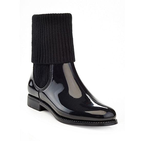 ba7b56a559e Henry Ferrera Womens Marsala 70 Rain Boots Water Resistant Flat Heel ...