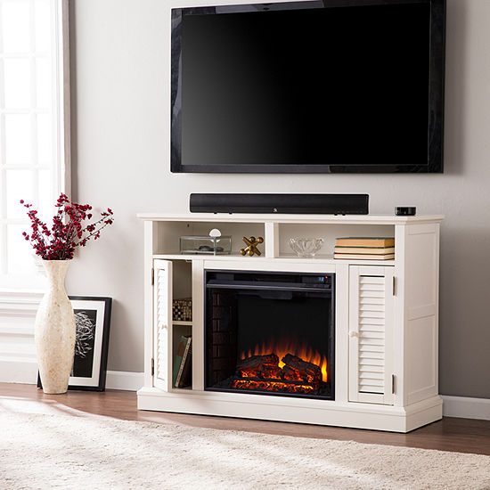 Southern Enterprises Alger Electric Fireplace