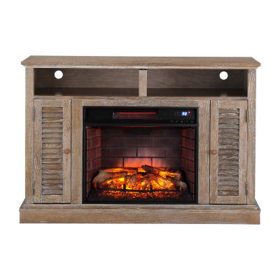 Southern Enterprises Alger Electric Fireplace